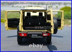 1/18 LCD Suzuki Jimny Sierra SUV Diecast Model Car Gift Collection Khaki