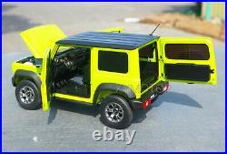 1/18 LCD Suzuki Jimny Sierra SUV Diecast Model Car Gift Collection Light Green