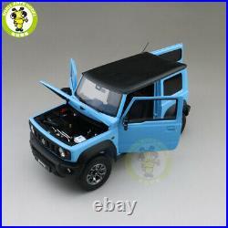 1/18 LCD Suzuki Jimny Sierra Suv Diecast Model Toy car Blue