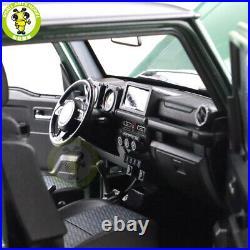 1/18 LCD Suzuki Jimny Sierra Suv Diecast Model Toy car Dark Green