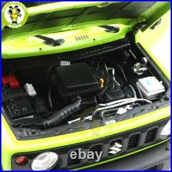 1/18 LCD Suzuki Jimny Sierra Suv Diecast Model Toy car Light Green