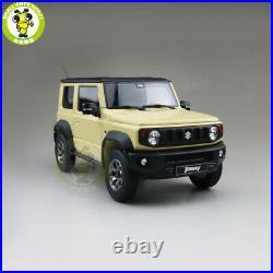 1/18 LCD Suzuki Jimny Sierra Suv Diecast Model Toy car Yellow