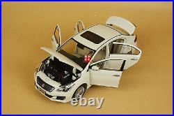 1/18 SUZUKI Alivio diecast model white color