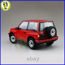 1/18 Suzuki Vitara Escudo Early Version New Junior LHD Diecast Model car Red