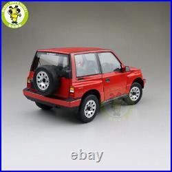 1/18 Suzuki Vitara Escudo Early Version New Junior RHD Diecast Model car Red