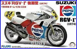 112 Scale Fujimi Suzuki RGV 1988 Champion Model Kit #925