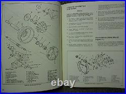 1979 1980 1981 1982 1983 1984 Harley Davidson CLE Sidecar Models Service Manual