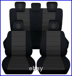 2005-2011 suzuki swift CPL set car seat covers, DOES NOT FIT THE SPORT MODEL