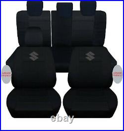 2005-2015 suzuki swift CPL set car seat covers, DOES NOT FIT THE SPORT MODEL