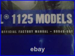 2009 Buell 1125R 1125 R Model Service Shop Repair Workshop Manual Set W Electric