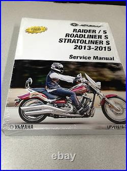 2014 YAMAHA RAIDER Models STRATOLINER ROADLINER Models Service Shop Manual OEM