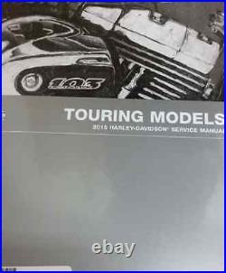 2015 Harley Davidson Touring Models Service Shop Manual Set W Electrical & Parts