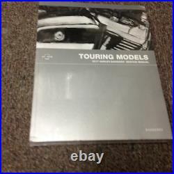 2017 Harley Davidson Touring Models Repair Workshop Service Shop Manual NEW