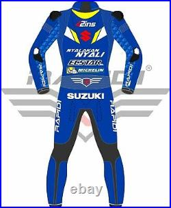 Alex Rins Suzuki Ecstar 2019 Model Motogp Motorbike Leather Racing Suit