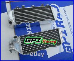 Aluminum alloy radiator FOR SUZUKI RM 125 RM125 MODEL K/L 1989 1990 89 90