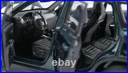 Diecast Model Car 118 Suzuki Vitara Escudo 2016 Deep Green SUV Alloy Toy Gifts