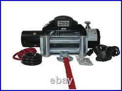 Engo 10K 12Volt Electric Winch MODEL SR10 Fairlead & Remote For JEEP TOYOTA FORD