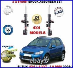 FOR SUZUKI SX4 1.6 1.9 DDIS 4x4 MODEL 2006- 2X FRONT SHOCK ABSORBER SHOCKER SET