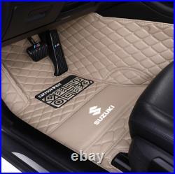 Fit For 2007-2021 Suzuki Ignis Kizashi Jimny Grand Vitara Car Floor Mats