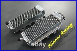 Fit Suzuki RM250 RM 250 MODEL K/L 1989-1990 braced aluminum radiator Left+ Right