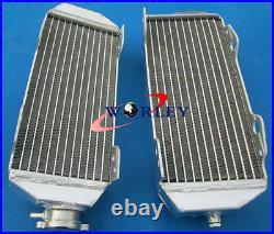 For SUZUKI DRZ400E drz400 02-07 MODEL K2/K3/K4 ALUMINUM RADIATOR + RED HOSE