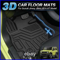 For Suzuki Jimny 2018 2019 2020 AT Model Left Hand Drive Car Floor Mats