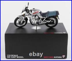 GENUINE Official SUZUKI Die Cast Genuine GSX1100S Katana Motorcycle Model 112 W
