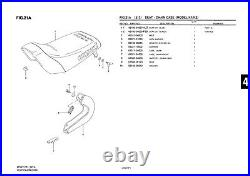 Genuine Suzuki LT50 Model K1, K2 ATV Seat Chain Case Chain Case 61311-04600-000