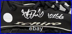 Ichiro Suzuki Autographed Mizuno Game Model Fielding Glove 10x Gg Is 157350