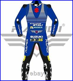 Joan Mir Suzuki Ecstar 2020 Model Motogp Motorbike Racing Leather Suit