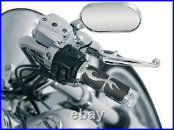 Kuryakyn Chrome Iso Flame Grips All Victory Models Ex Heat Grip VV Cct Oct 6261