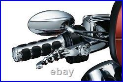 Kuryakyn Gloss Black Iso Grips For Victory Models Ex Heated Grip Oct VV Cct 6345