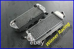 L&R ALUMINUM RADIATOR for SUZUKI RM250 E28 MODEL M/N 2 STROKE 1991-1992 Braced