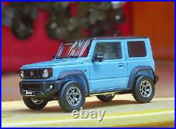 LCD 1/18 Scale Suzuki Jimny SUV Blue Diecast Model Car Toy Collection Gift