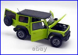 LCD 1/18 Scale Suzuki Jimny SUV Green Diecast Model Car Toy Collection Gift