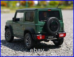 LCD 1/18 Scale Suzuki Jimny SUV Jungle Green Diecast Model Car Toy Collection