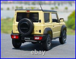 LCD 1/18 Scale Suzuki Jimny SUV Khaki Diecast Model Car Toy Collection Gift