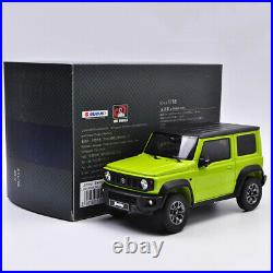 LCD Model 118 Scale Suzuki Jimny SUV 2018 Diecast Car Collection Alloy Vehicles