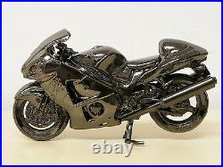 MODEL Suzuki GSX1300R HAYABUSA diecast metal figure 1/15 Not For Sale GSX
