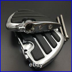 Motorcycle Front Wing Foot Pegs Rest fit For 2008-2015 Can-Am Spyder RS Models