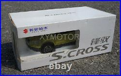 NEW 1/18 Suzuki S. CROSS Diecast Model Car SUV Collection Boy girl Gift Green