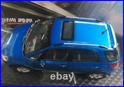 NEW 1/18 Suzuki SX4 Hatchback Diecast Car Model Collection Boy girl Gift Blue