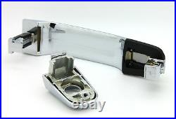 NEW Bright Chrome Exterior Outside Door Handle SET of 4 / FOR LISTED GM MODELS