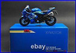 NEW Genuine 1/12 Suzuki GSXR GSX-R 1000R Diecast Motorcycle Bike Model Ornaments