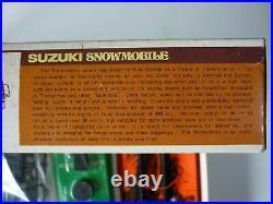 Nakamura old model kit nagano 1/32 SUZUKI showmobile XR 440wind-up toy