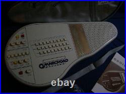 Play Tested Suzuki Omnichord Synthesizer Model OM27 New AC Adapter Book Strap #8