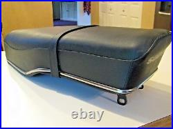RARE 1960's OEM SUZUKI M, K, S, T, MODELS MOTORCYCLE SEAT, EARLY ORIGINAL