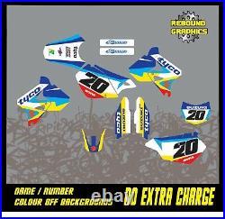 Rebound Graphics Kit to fit Suzuki RM RMZ 85 125 250 450 models all years