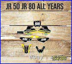 Rebound Graphics Kit to fit Suzuki jr 50 jr 80 models all years