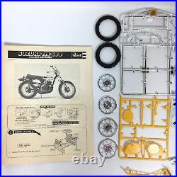 Revell Suzuki TM-400 Cyclone Dirt Racer Bike 1/12 Scale Model Kit H-1512 read